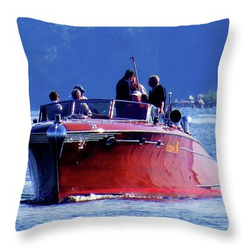 Pardon Me Throw Pillow
