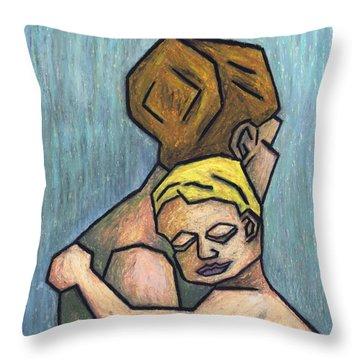 Parental Bond Throw Pillow by Kamil Swiatek