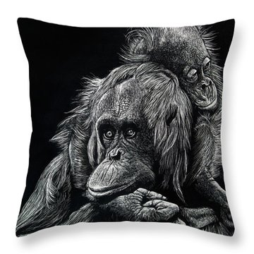 Parenthood Throw Pillow