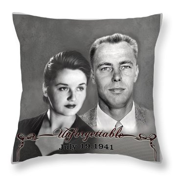 Parents Throw Pillow