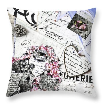 Parfumerie Paris Love Letters Mixed Media By Wall Art And Home Decor