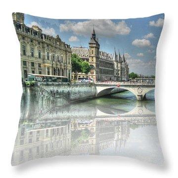 Pari Pari Throw Pillow by Yury Bashkin