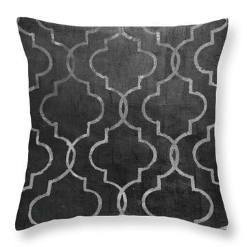 Paris Apartment II Throw Pillow
