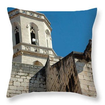 Throw Pillow featuring the photograph Parish Church Of St. Peter by Gregory Dyer