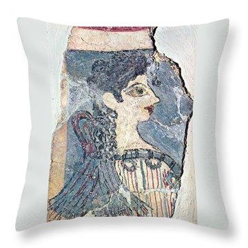 Parisiene Throw Pillow by Andonis Katanos