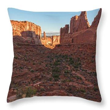 Park Avenue Sunrise Throw Pillow
