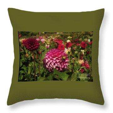 Park Blossoms  Throw Pillow