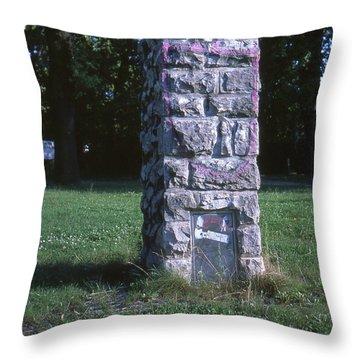 Park Column Throw Pillow
