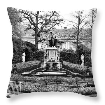 Park Dimensions In Brussels Throw Pillow