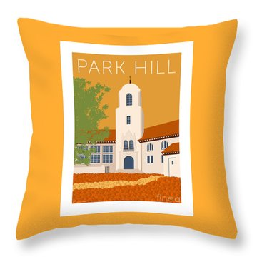 Park Hill Gold Throw Pillow
