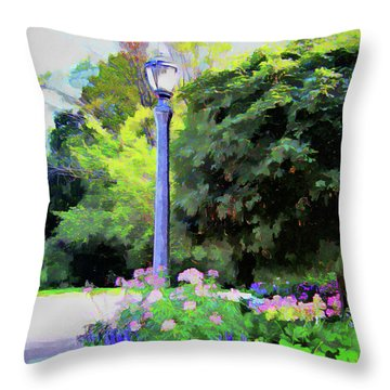 Park Light Throw Pillow