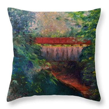 Parke County Throw Pillow