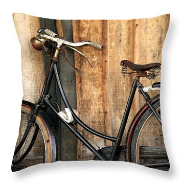 Parked Throw Pillow by Charuhas Images