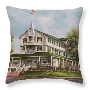 Parker House Sea Girt , Nj Throw Pillow