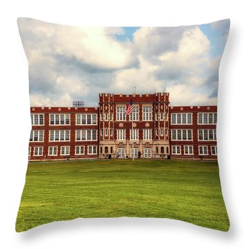 Parkersburg High School - West Virginia Throw Pillow by L O C