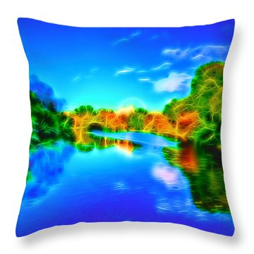 Parkland Symphony Throw Pillow by Andreas Thust