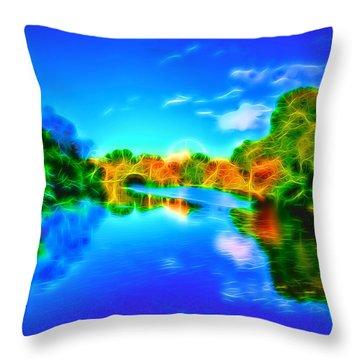 Parkland Symphony Throw Pillow