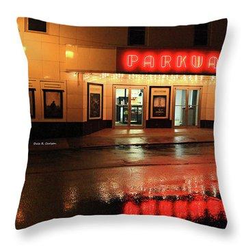 Parkway Night Throw Pillow