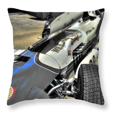 Parnelli Jones Watson Roadster 1963 Throw Pillow