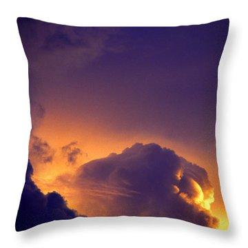 Parousia Throw Pillow by Thomas R Fletcher