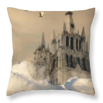 Parroquia Rising Throw Pillow