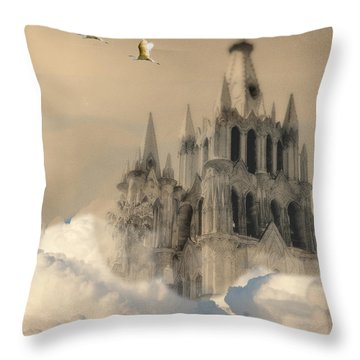 Parroquia Rising Throw Pillow