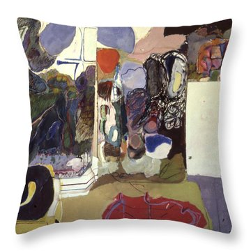 Part 2, Human Landscapes Throw Pillow