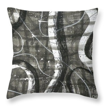 Part I Throw Pillow by Holly York