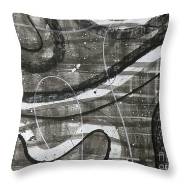Part II Throw Pillow by Holly York