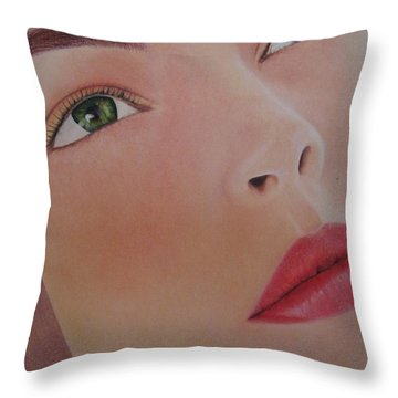 Part Of You 1 Throw Pillow by Lynet McDonald