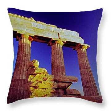 parthenion Ver 2 Throw Pillow