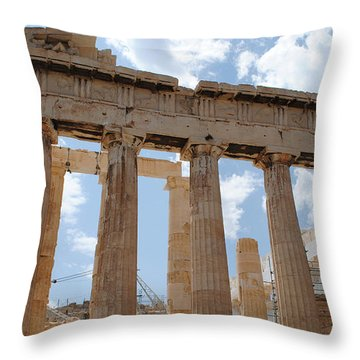 Parthenon Throw Pillow