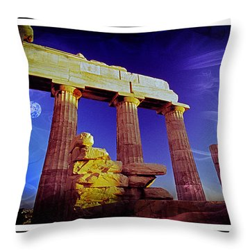 Parthenon  Ver 1 Throw Pillow