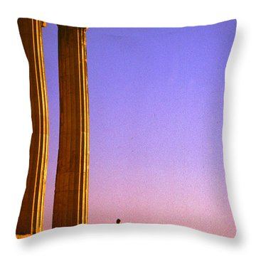 Parthenon Ver 5 Throw Pillow
