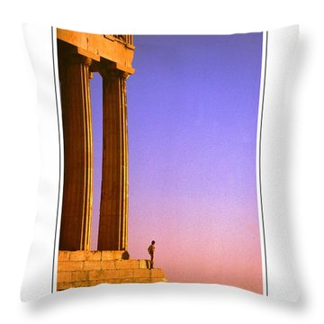 Parthenon Ver 6 Throw Pillow