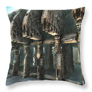 Parts Unknown Throw Pillow
