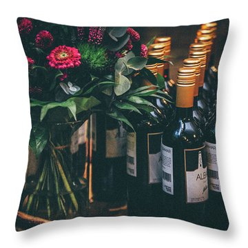 Party Throw Pillow by Happy Home Artistry