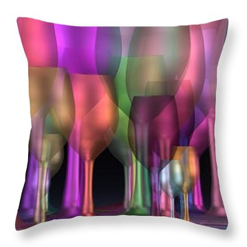 Partytime Throw Pillow