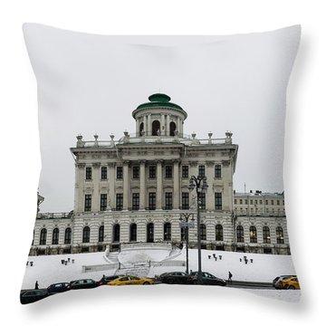 Pashkov House Throw Pillow