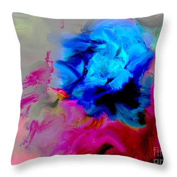 Pasodoble Throw Pillow