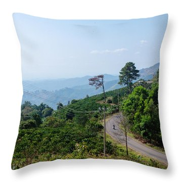 Pass Gia Bac Throw Pillow