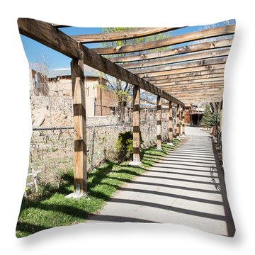 Passage To Sanctuary Throw Pillow