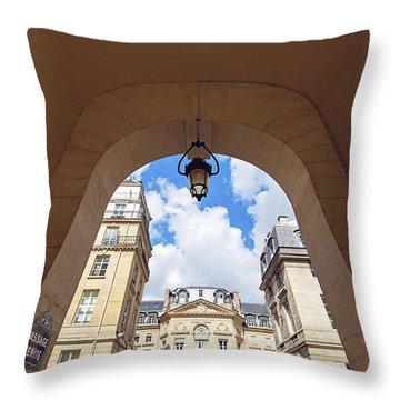 Passage Verite - Paris, France Throw Pillow