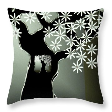 Passages Throw Pillow by Misha Bean