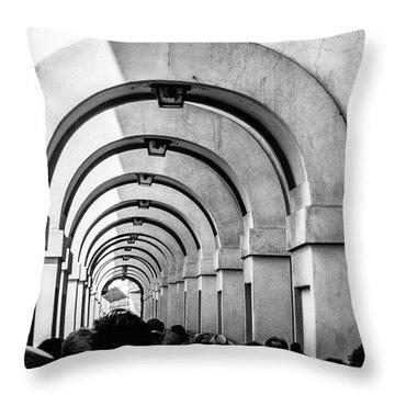 Passageway At The Arno Throw Pillow