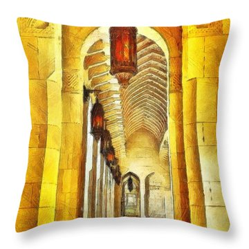 Passageway Throw Pillow