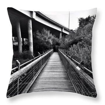 Passageways Throw Pillow