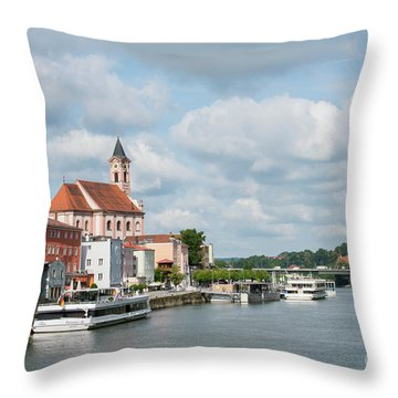 Passau, Germany Throw Pillow