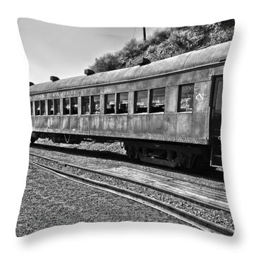 Passenger Ready Throw Pillow