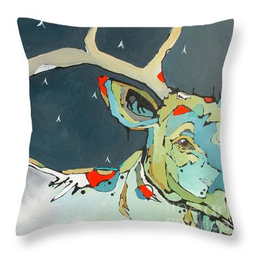 Passing In The Night Throw Pillow